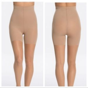 SPANX Luxe Leg Mid Thigh Shaping Sheers Shapewear